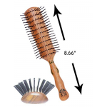 Primp PP-351 Vent Style 9 Row Blow Drying Hair Brush + Free Shipping