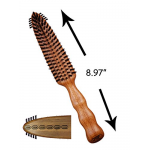 Primp PP-501 Finishing Row Boar Bristle Brush