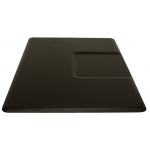 "3.5'D x 5W' x 5/8""T Rectangular Salon Mat w/ 20"" Square Depression 3550SS + Free Shipping"
