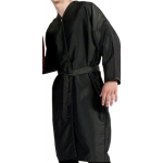 8814 PeachSkin Long Sleeve Salon Spa Client Robe Kimono by Cape Company - Buy 12 Get 1 Free