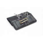 "Pollyseon Stow & Go ""Tools of the Craft"" Case In Geniune Leather + Free Lady Mate Clips"