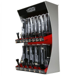 Spornette MCB-100 Marche' 57 Pc. Makeup Brush Display + Free Salon Armor Magnetic Cuff