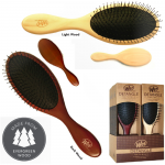 The Wet Brush Natural Collection 6pc Hair Brush Display
