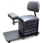Dina Meri 2318 Pedi Board Pedicure Station and Stool w/ Back Support + Free Shipping