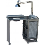Dina Meri 331-V Mani Roll-Ex Vented Manicure Table + Free Shipping