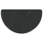 "Andersen Half Round 3' x 5' x 3/4"" w/Depression Salon Décor Anti-Fatigue Salon, Barber, Spa Anti-fatigue Mat"