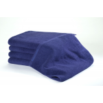 24 Navy Bleachsafe® 15 x 26 Salon & Spa Hand Towels + Free Shipping