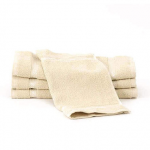 24 Tan Bleachsafe® 13 x 13 Salon & Spa Wash Cloths + Free Shipping