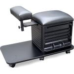Dina Meri 2317 Pedi Board Pedicure Stool in Black + Free Shipping