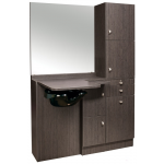 Ellipse EP-260-SQ Kaemark Salon Wet Station w/Mirror In 22 Colors + Free Shipping!