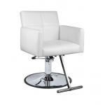 SALE - Valentina White SAV-064 Savvy Kaemark Salon Styling Chair + Free Shipping!