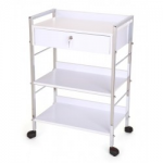 Salon Tuff MFT-LD Esthetican Cart with Lockable Drawer