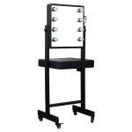 JustCase Led Light Mirror Professional Salon Makeup Desk