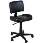 King V308 All Purpose Contoured Salon Task Chair with Back Rest In 9 Colors
