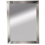Rococo RC-10 Kaemark Stainless Steel Framed Mirror + Free Shipping