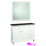 Benjamin SAV-402 6 Drawer Shaker Salon Styling Station & Mirror + Free Shipping!