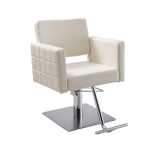 Gwyneth 619 WHITE Kaemark Salon Styling Chair + Free Shipping!
