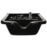 Kaemark Savvy SAV-954-B Plastic Wall Mount Bowl in Black