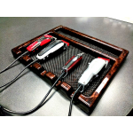 SALE - Kayline Wahl BT-5 Professional Barber Tray In African Burl + Free Shipping!