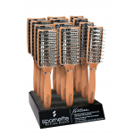 Spornette Keratina 12 pc Thermal Vent Hair Brush Display