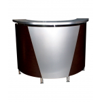 Pibbs 5031 Curved Salon Spa Reception Desk in 20 Colors