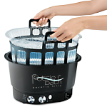 Footsie Bath FM3848 Pedicure Spa w/ Basket & Liners + Free Shipping!