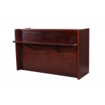Mid-Century 409-RD-MCM Modern Reception Desk by Kaemark + Free Shipping!