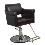 Averie SAV-051 Savvy Kaemark Hair Salon Chair In Mocha or Black