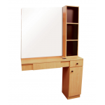 Pibbs 5006 Styling Station w/ Mirror In 12 Color + Free Shipping!