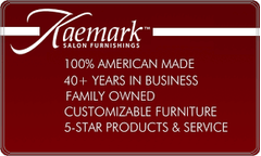 "Luminess LA-90 Kaemark Modern 42"" Tall Retail Display in 22 Colors + Free Shipping"