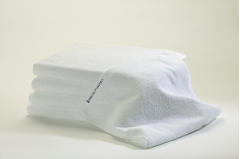 24 White Bleachsafe® 15 x 26 Salon & Spa Hand Towels + Free Shipping