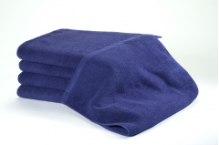 24 Navy Bleachsafe® 15 x 26 Salon & Spa Hand Towels + Free Shipping