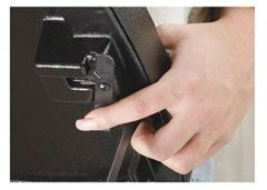 Kayline Designed FT59-C BLACK Fold-A-Way w/ Bottom Tray & Towel Holder + Free Shipping!