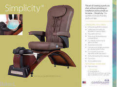 Continuum Simplicity SE No Plumbing Pedicure Spa + Free Nail Tech Chair ($170 value) + Free Shipping!
