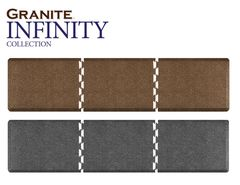 4.75' Infinity Granite Collection Left Puzzle Section in Granite Steel + Free Shipping