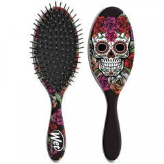 Wet Brush Sugar Skull Limited Edition - Red, Purple & Black and White Rose