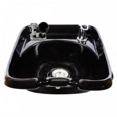 Kaemark KS-902 European Style Wall Mount Porcelain Shampoo Bowl In Black