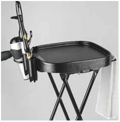 Kayline Designed FT59-H w/021 Fold-A-Way Tray w/ Towel & Tool Holders + Free Shipping!