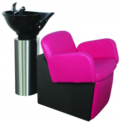 Loire LO-70 Kaemark OWI Stainless Steel Cylinder w/ Epsilon SQ-363 Reclining Chair In 18 Colors