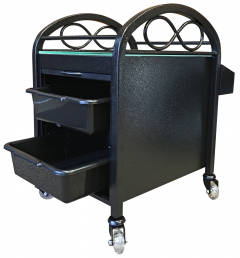 SALE - Continuum Standard Pedicute Package In Dark w/ Tech Chair, Accessory Cart & 300 Liners + Free Shipping