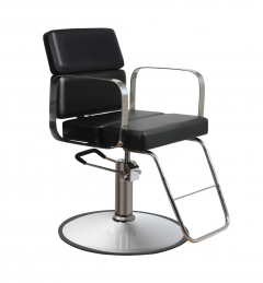 Zac 63 WHITE Kaemark Salon Styling Chair + Free Shipping!