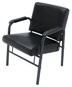 Kim SAV-047 Kaemark Triggerless Shampoo Chair in Black + Free Shipping