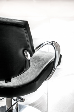Katy 3219 Maletti Italian Designed Salon Styling Chair In Black + Free Shipping!