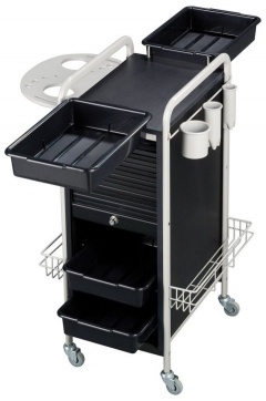 Stella SAV-505 BLACK Savvy Kaemark Personal Assistant Roller Cart Trolley + Free Shipping