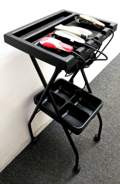 Kayline Wahl BT-5 / FT59 Fold-A-Way Portable Barber Tray In 5 Colors + Free Shipping!