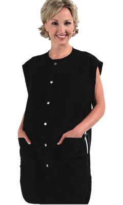 9907 Silkarah Unisex Stylist / Barber Vest in 11 Colors + Free Shipping!