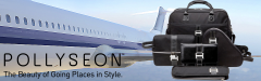 """Pollyseon Stow & Go """"All Access"""" Traveler + Free Lady Mate"""