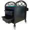 Continuum Infinity Salon & Spa Pedicure Accessory Cart In Black + Free Shipping